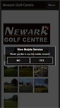 Mobile Preview of newarkgolfcentre.co.uk