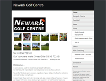 Tablet Preview of newarkgolfcentre.co.uk
